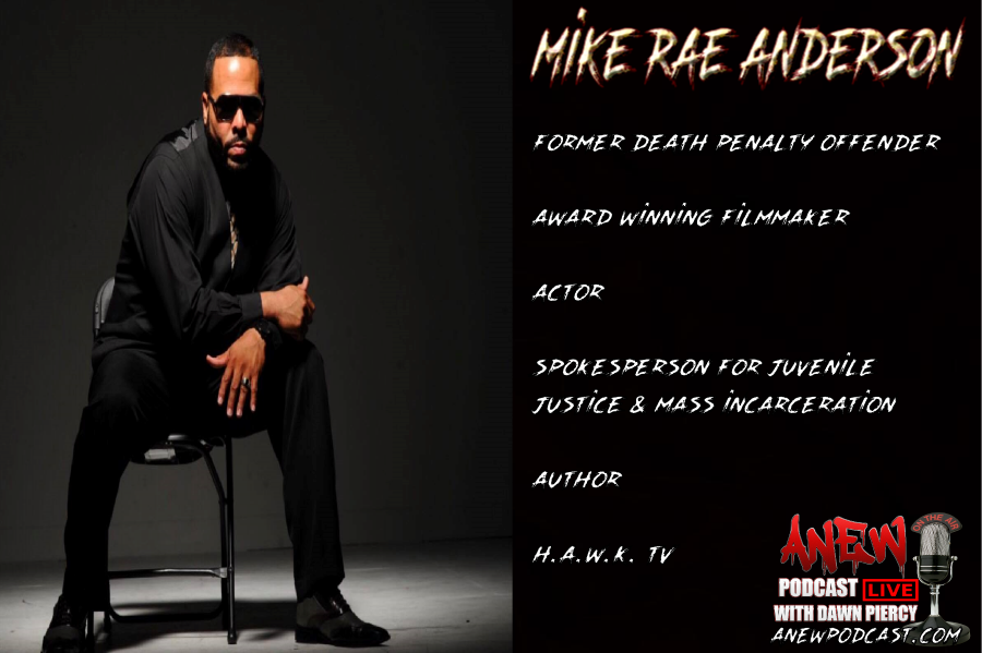 Mike Rae Anderson interview & bio