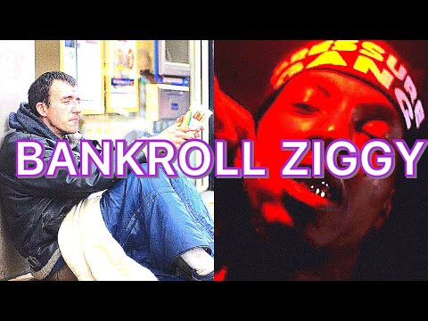HIP HOP.  Rapper Bankroll Ziggy gives homeless man the clothes off of his back.