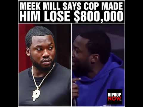 How Meek Mill Lost $800,000 – Global Hip Hop Day