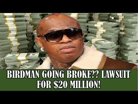 BREAKING NEWS: BIRDMAN Could Be FINISHED Over $20,000,000 Lawsuit