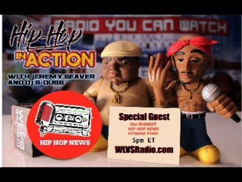Hip Hop In Action with *HIP HOP NEWS SPECIAL*