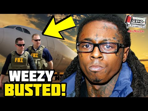 LIL WAYNE Just Got Served To The Feds On A Platter! Faces 10 Years In Prison!