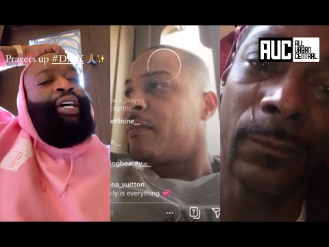Rappers And Celebs React To DMX Overdose Snoop Dogg Rick Ross T.I.