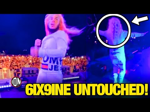 6ix9ine Proves ALL His OPPS Were FAKE ACTORS! (1st Show UNTOUCHED!)