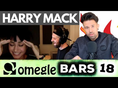 This One Is The Most Emotional One… HARRY MACK – OMEGLE BARS 18 (Reaction)