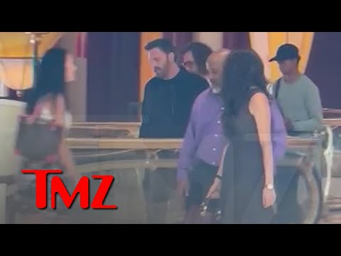 Ben Affleck Filming A Scene At The Palazzo In Vegas   TMZ