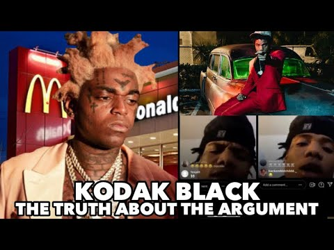 KODAK BLACK LIVE Barks On His Artist Wam SpinThaBin Over that Bang Out that happened at McDonald's
